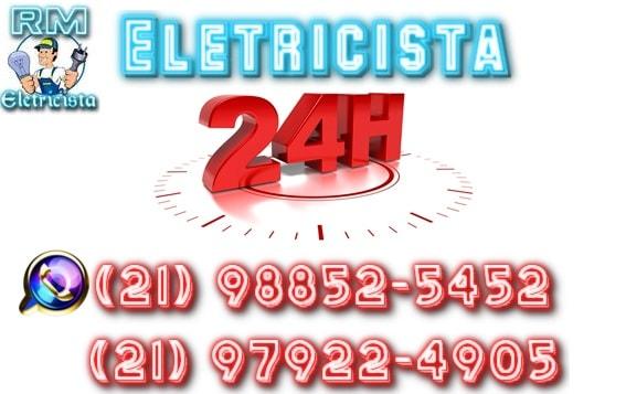 RM Eletricista 24 hs  - Eletricista Vargem Grande - RJ(21) 98852-5452